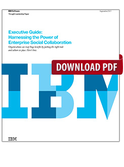 Executive Guide: Harnessing the Power of Enterprise Social Collaboration