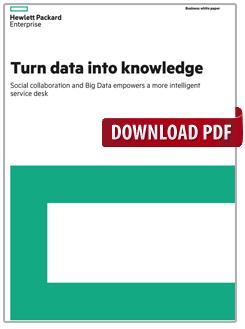 Turn data into knowledge