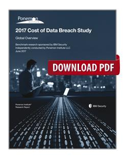 2017 Cost of Data Breach Study