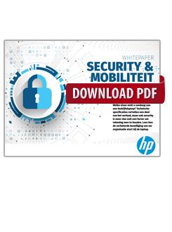 Security & Mobility: Veiligheid in zakelijke laptops
