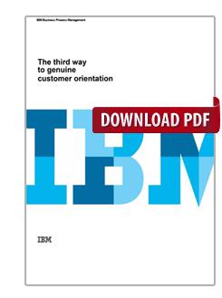 The third way to genuine customer orientation
