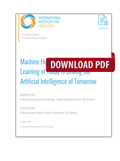 Machine Humanity: How the Machine Learning of Today is Driving the Artificial Intelligence of Tomorrow
