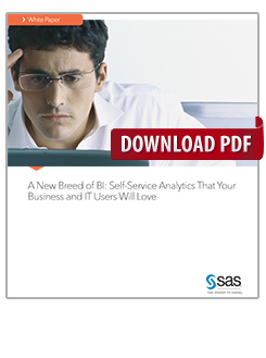 A New Breed of BI: Self-Service Analytics That Your Business and IT Users Will Love