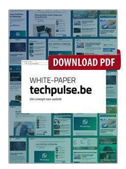 TechPulse.be: van concept naar website